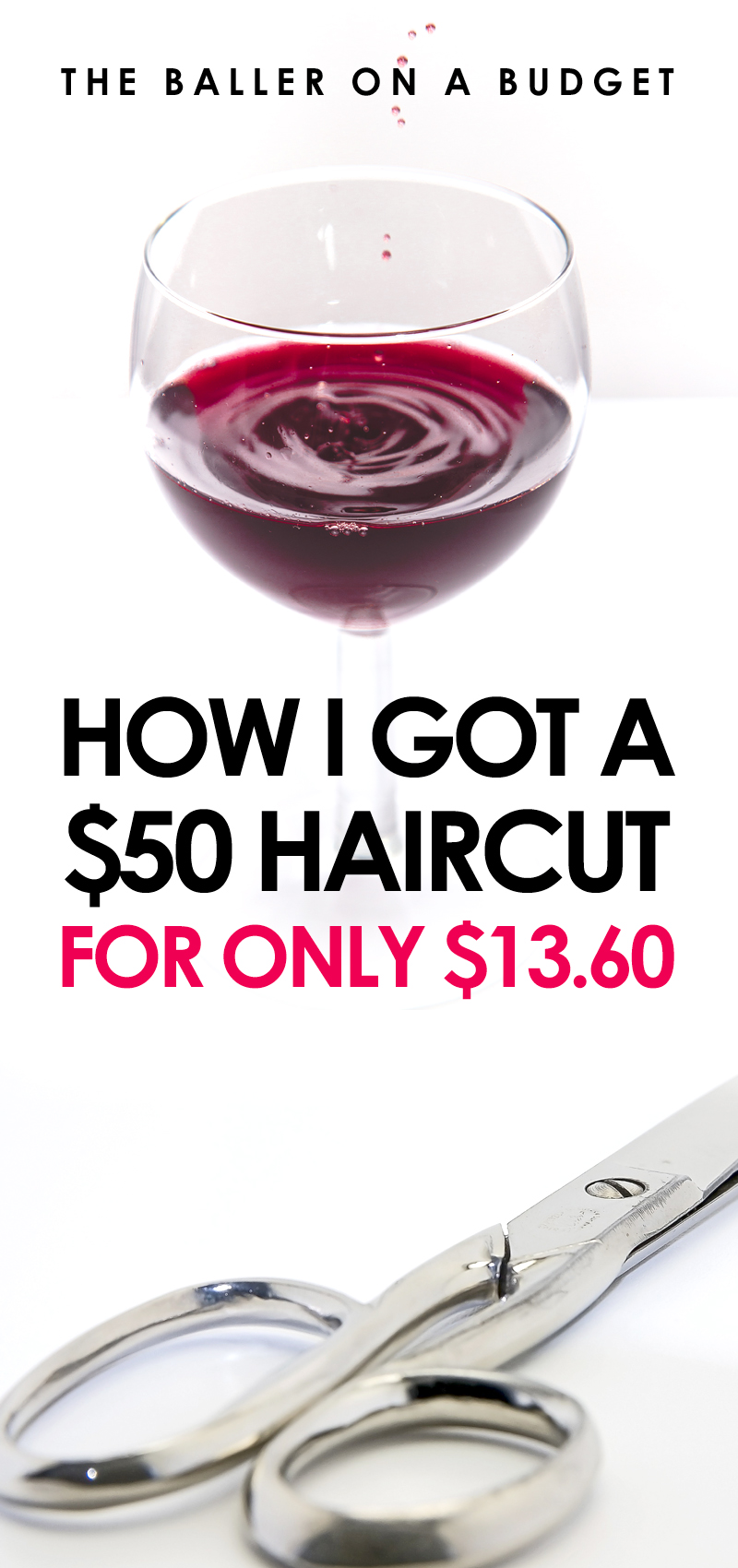 Groupon can get you a great deal on spa treatments! See how I got a $50 haircut for only $13.60. - www.theballeronabudget.com