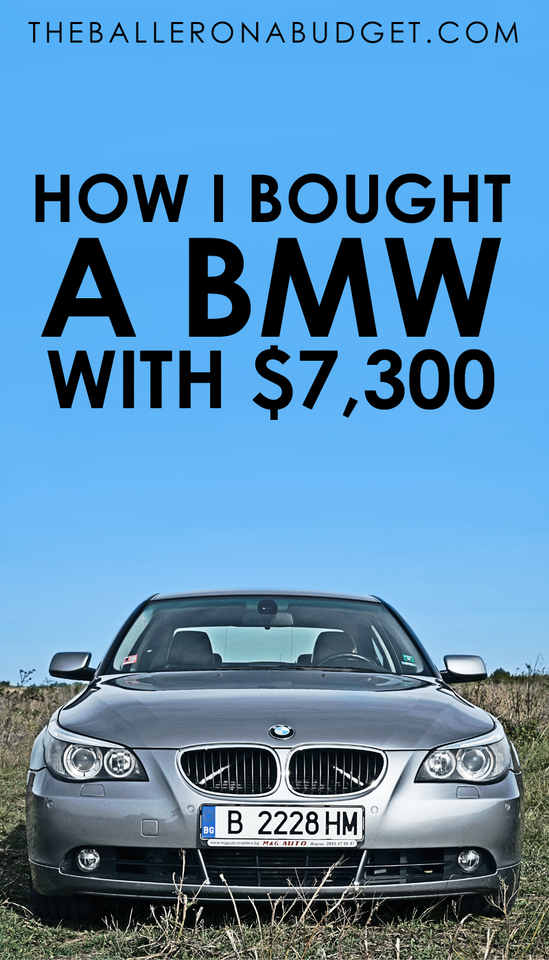 I purchased a BMW 330i for only $7300 cash. How did I do it? Click here to find out how you can too! - www.theballeronabudget.com