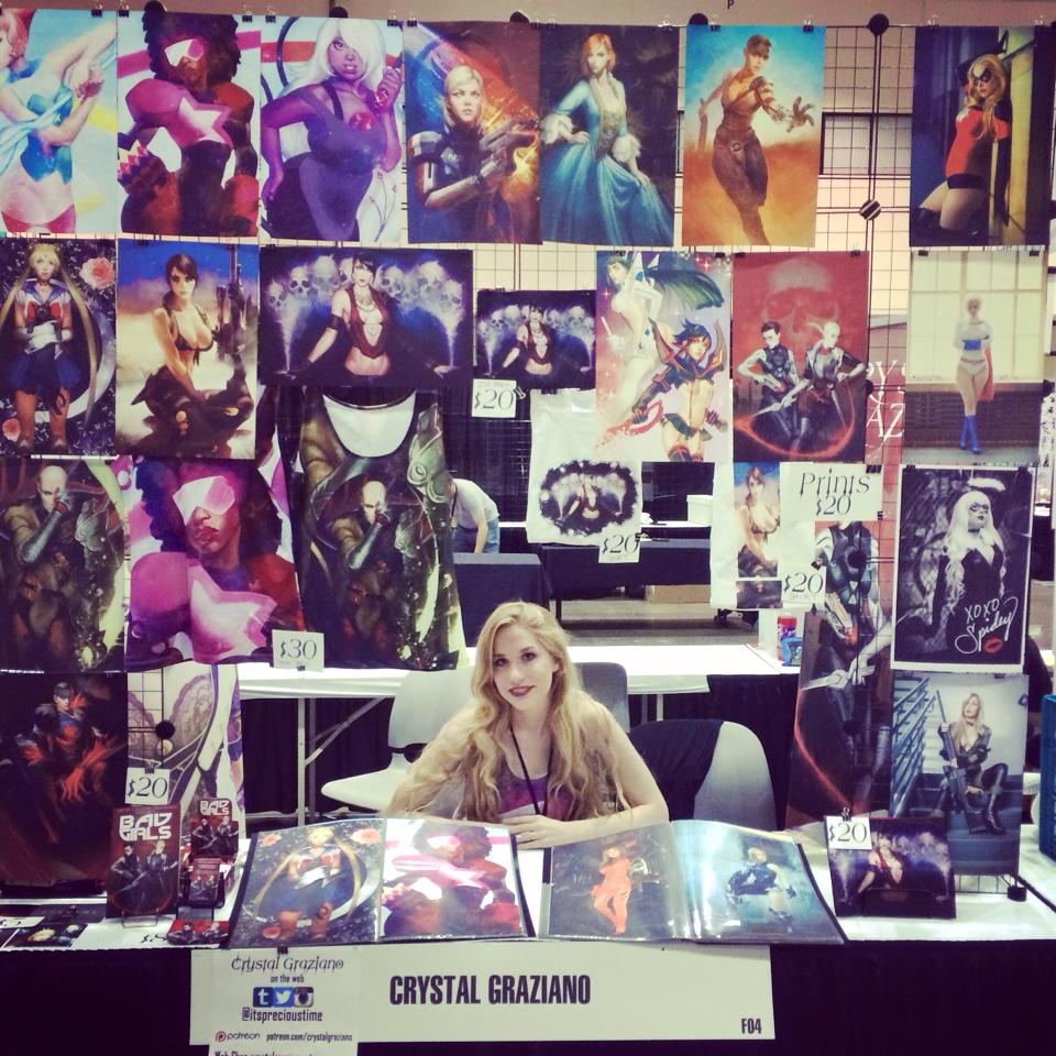 Through Internet popularity, cosplayer and artist Crystal Graziano makes a steady income through her artwork and cosplay. Her name has been featured on many publications as well as the video game Firefall. Read more to see how she made her hobby a full-time career.