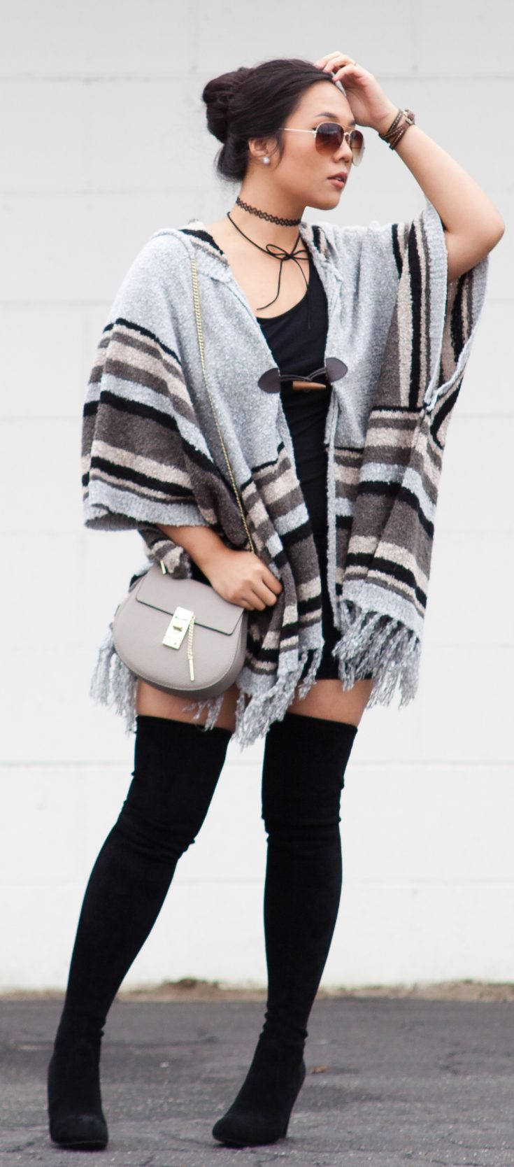 Shop the Look - Poncho: $22.90