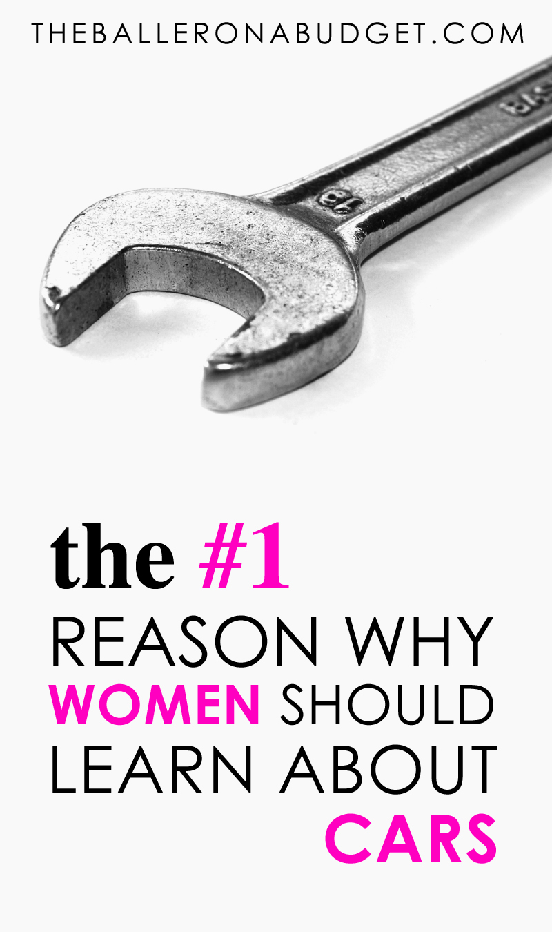 There are a number of benefits to a woman learning the basics of maintaining and working on a car, but there is 1 reason that is most important above all. Independence. - www.theballeronabudget.com