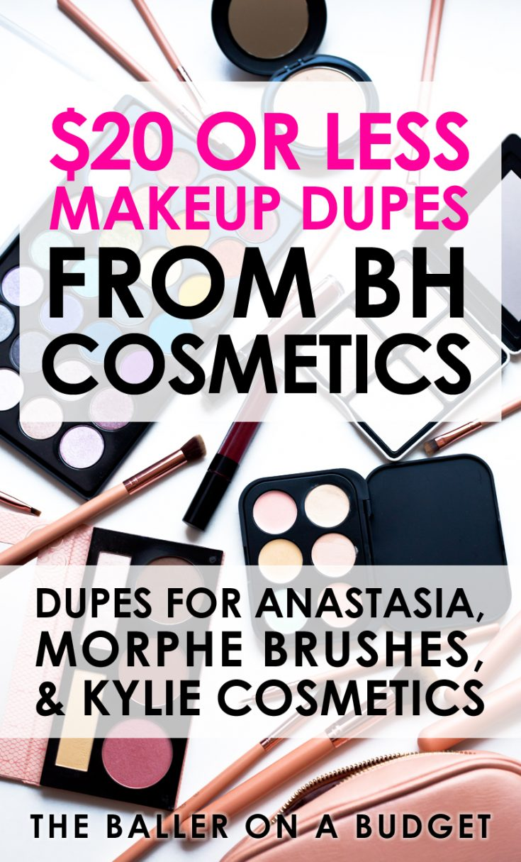 Looking for affordable makeup that compares to big brands like Anastasia, Kylie Cosmetics and MAC? My BH Cosmetics favorites are dupes all under $20.