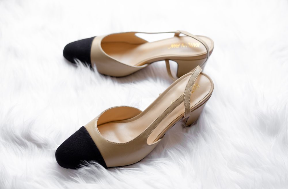 #sponsored: The $800 Chanel slingback has met its dupe. For $84.99, you can grab strikingly similar shoes made of genuine lambskin. Click for the full review. - www.theballeronabudget.com