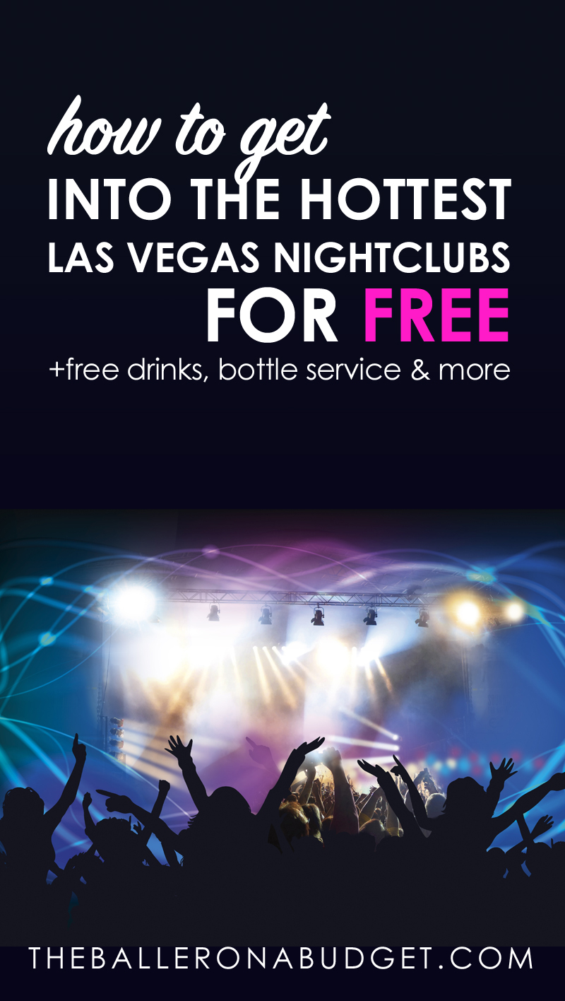 Las Vegas can be an expensive place to party at, but getting complimentary services at nightclubs and hotels can be much easier than you think. Click here to find out how I spent only $275 (including transportation) for 4 days in Vegas and got table service, free drinks, and free hotels (and how you can too!). - www.theballeronabudget.com