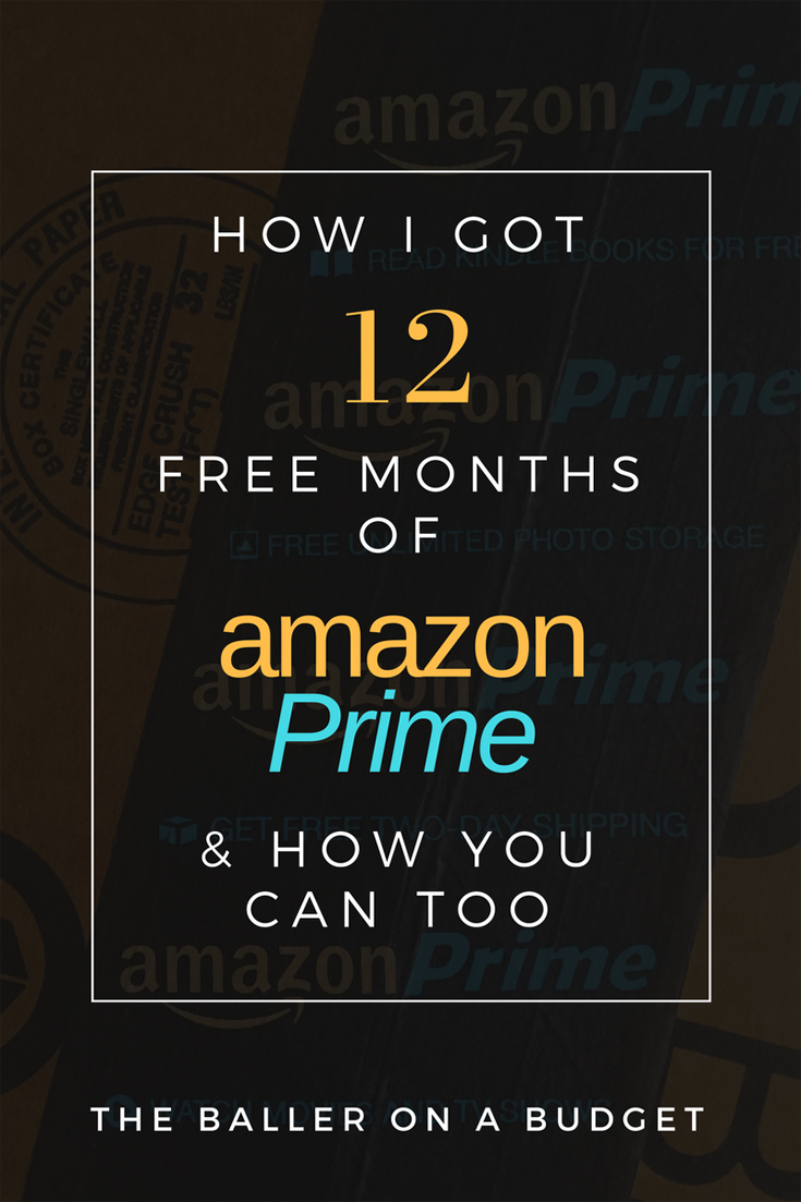 Did you know you can get up to 12 free months of Amazon Prime? We pay $99 for a yearly membership - let's stretch that money!