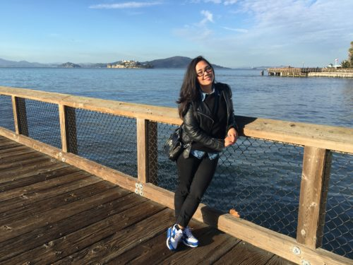 Even though I knew Pier 39 was a total tourist trap, I had to look at Alcatraz...