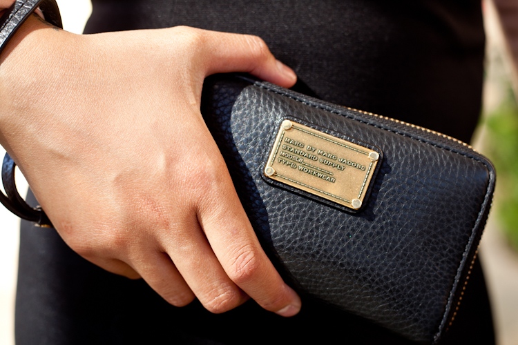 "Marc by Marc Jacobs ""Classic Q Wingman"" Wallet: $63.14 on eBay"