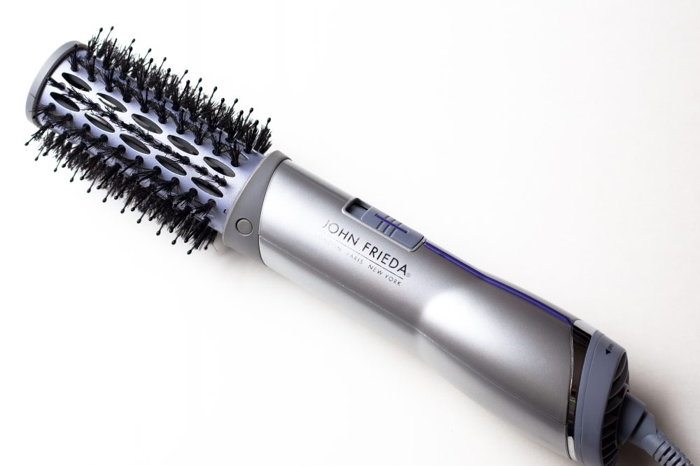 This blowout brush makes it possible to get a salon blow-out at home, no hairdresser necessary. The best part: it's only $29.99! - www.theballeronabudget.com