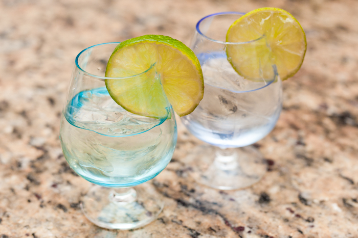 Gin and tonic is a great simple and refreshing cocktail for those looking for something simple or watching their calories.