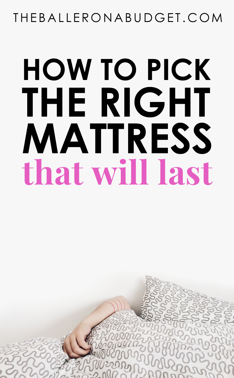 Firm or soft? $400, $1,000, or $4,000? Most people leave mattress stores with the wrong one for them, making their new bed a bad investment. Here's my 10 best tips on buying your next mattress that will actually last. - www.theballeronabudget.com
