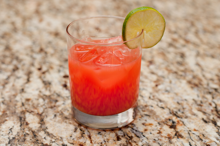 For the one who wants something sweet and citrusy, a tequila sunrise is a great cocktail. Made only with orange juice, grenadine and tequila, this is a great 3-ingredient cocktail.