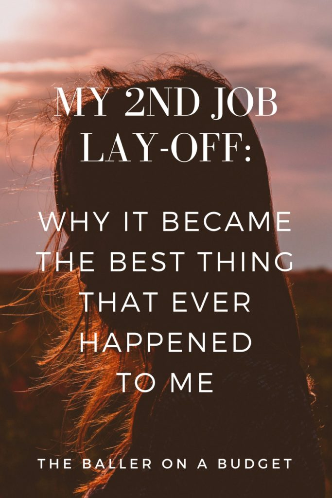 7 months into my new job I finished paying off about $8,000 in credit card debt, and was laid off right after. But it pushed me into a corner and forced me to finally chase my dreams.
