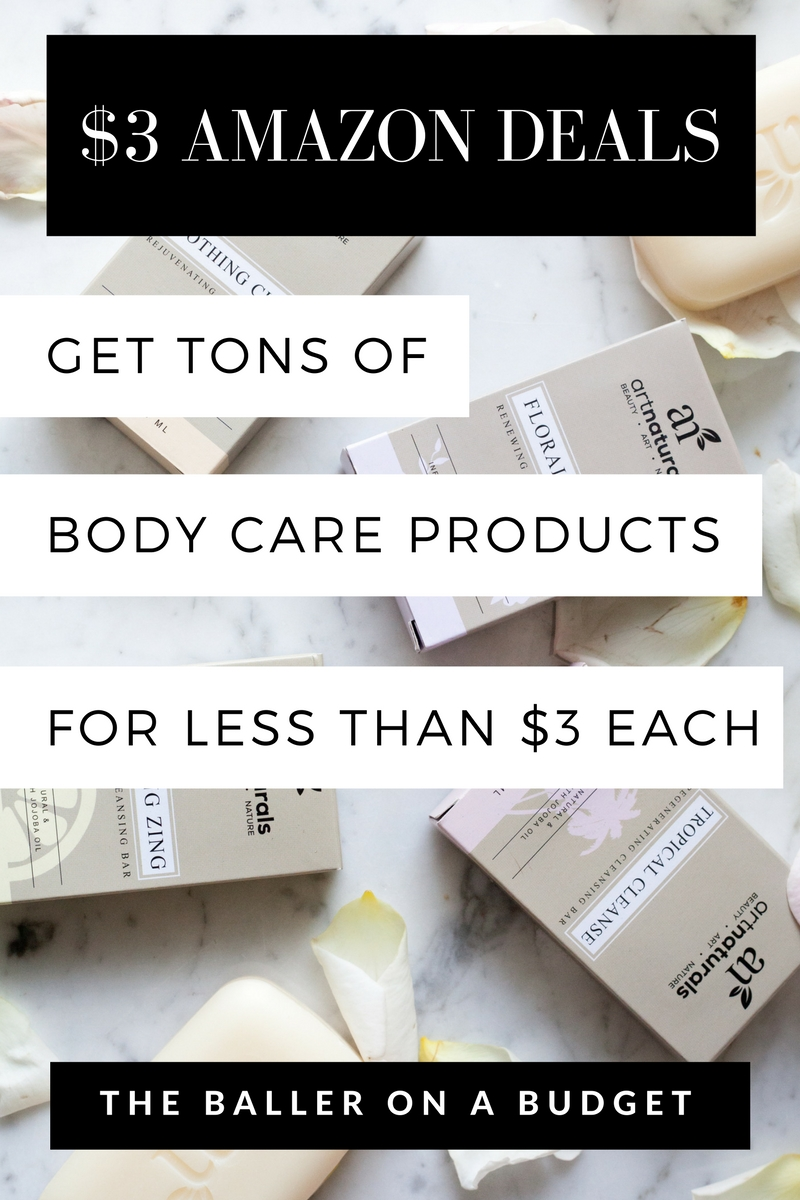 I got a 6-pack of luxurious soap for $3, Himalayan salt scrub for $1, and coffee scrub for 10 cents! How did I get them so cheap? Read more to see how I snagged these deals on Elite Deal Club! - www.theballeronabudget.com