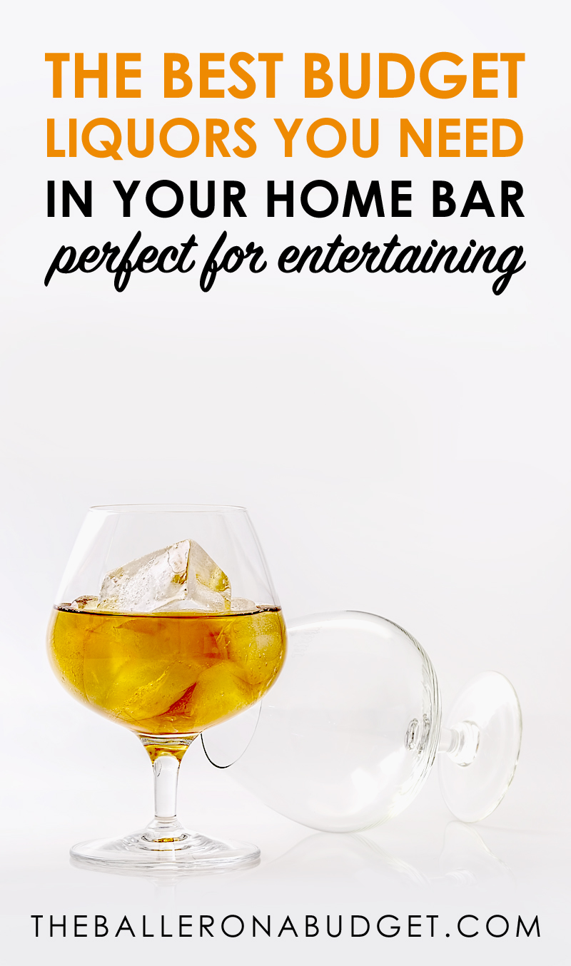 Looking for some affordable quality liquors and simple cocktails to entertain parties? From $6.99 amaretto to six-times distilled vodka, we've got a list of the best budget liquors for your next party, complete with easy cocktail recipes. -www.theballeronabudget.com