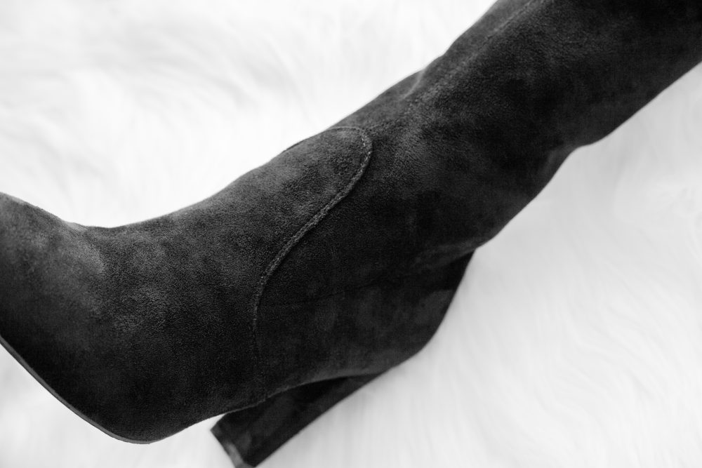 9a59ab02e0 Stuart Weitzman's $798 Highland boot has met its maker! I found the most  accurate dupe ...
