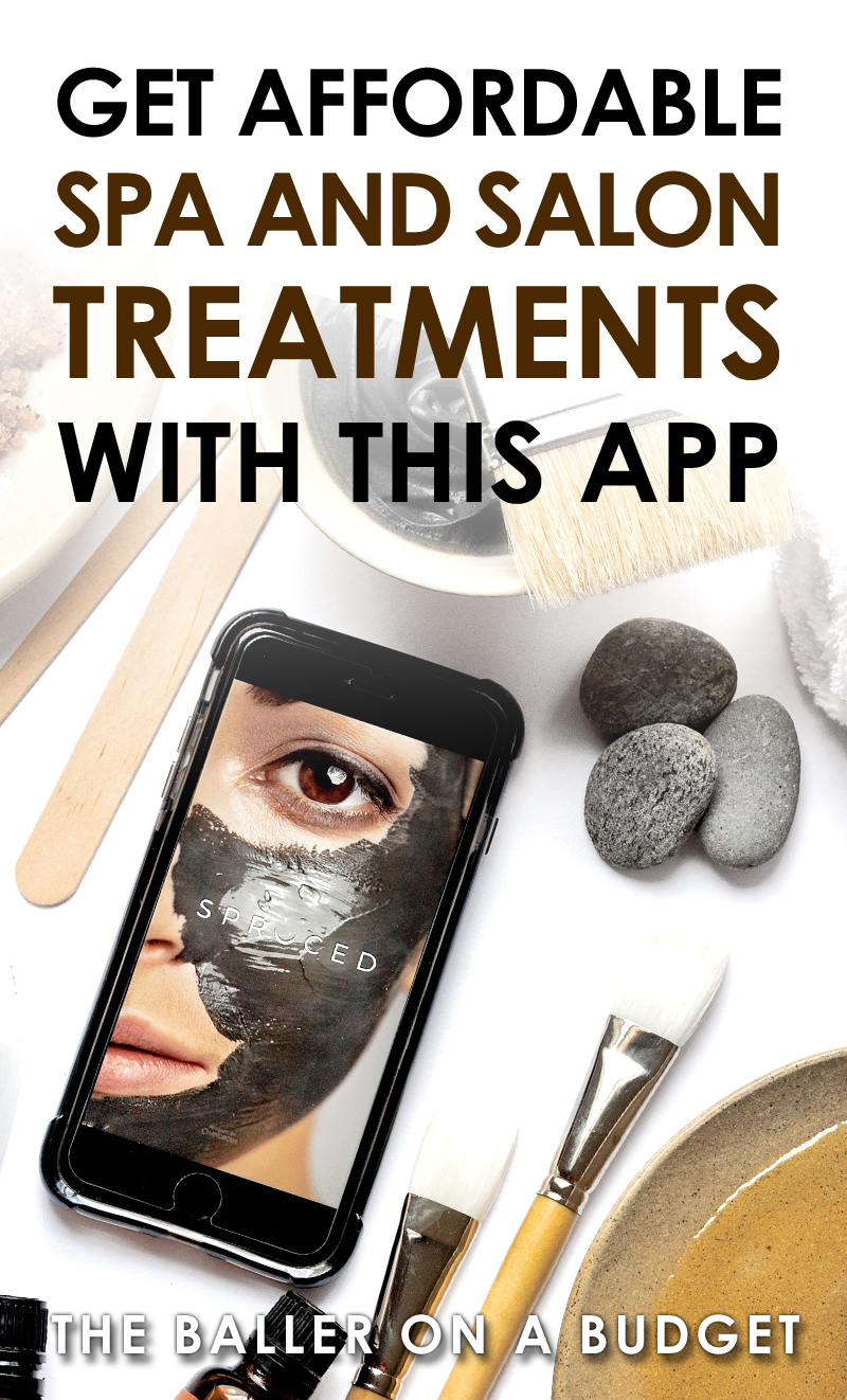 With Spruced Now, you can book last-minute 5-star treatments from massages, facials, waxing, to even lash extensions directly through the app! Oh, and did I mention that booking through Spruced gets you huge discounts on spa services? Click here to learn more! #sponsored - www.theballeronabudget.com