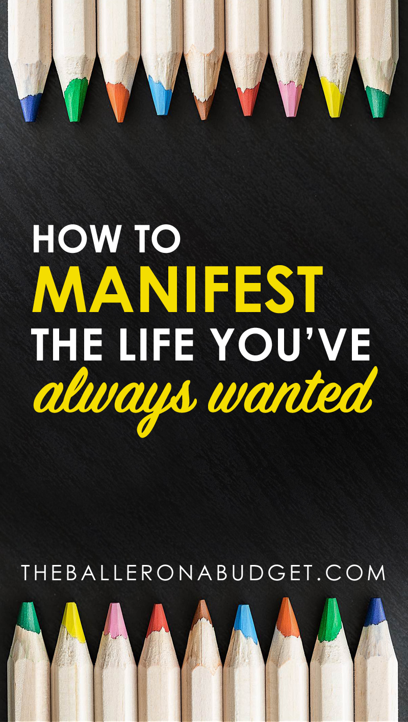 What if I told you there was just one simple secret to manifesting the life you've always wanted? Your dreams are within reach, it is simply a matter of shifting your mindset. - www.theballeronabudget.com