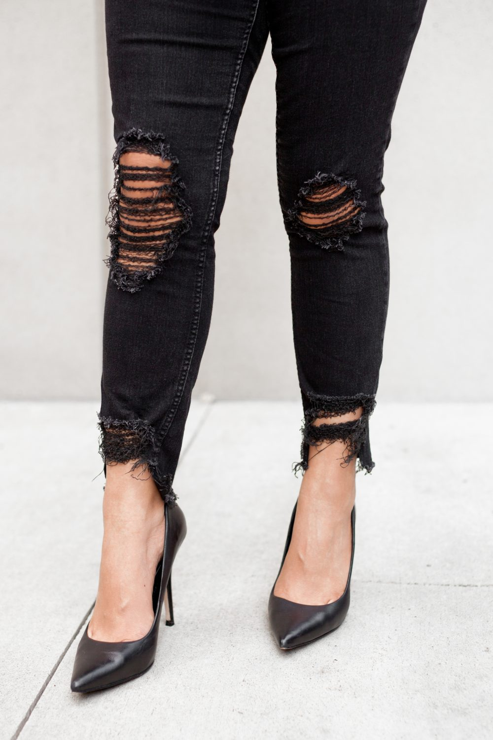Ripped black jeans diy - Diy (Do It Your Self)