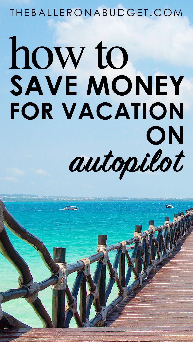 Does a vacation always feel like it's out of the budget? Rize is an easy and free way to save money for your next vacation automatically. Click to see how I saved up a $400 budget in one month for my next vacation with this simple app. - www.theballeronabudget.com