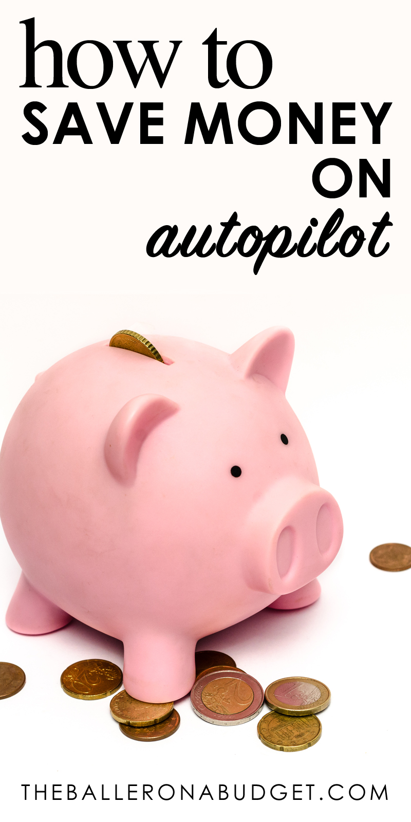 Terrible at saving money? Sometimes, creating spreadsheets or calculating your finances may be a hassle for budgeting. Here's a great way to save money on autopilot with Rize. - www.theballeronabudget.com