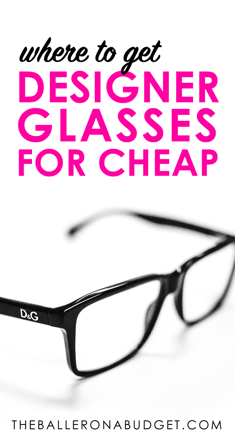 Looking for quality prescription glasses at affordable prices? Ottica offers designer brands from Ray Ban, Coach, and more, at cheap prices. - www.theballeronabudget.com