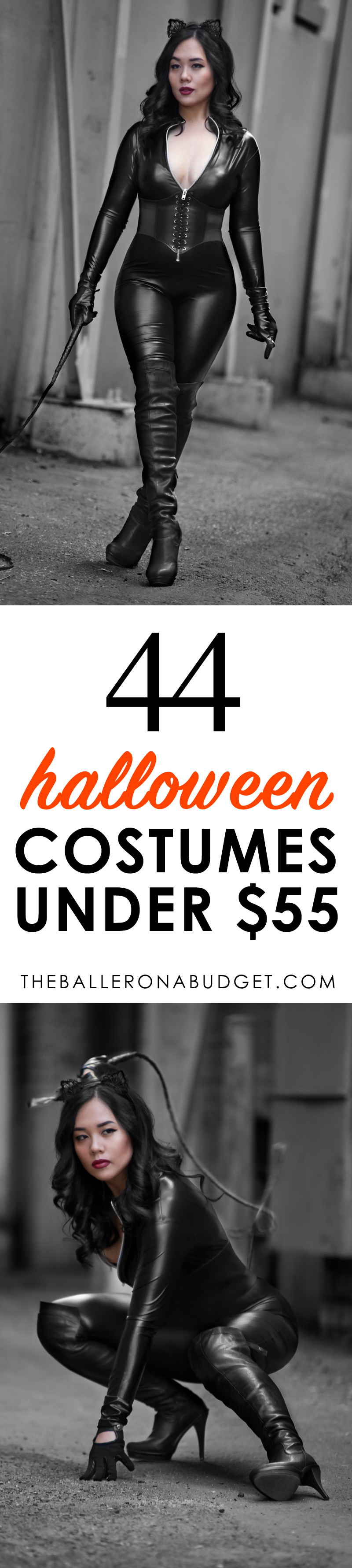 Ladies, looking for a unique, eye-catching or sexy costume under $55? Here are 44 cheap Halloween costumes that don't break the bank!