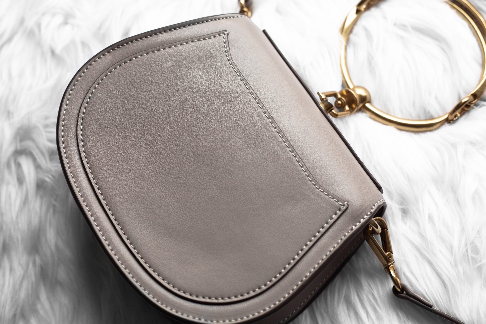 e984b121b70b Chloe s popular small Nile bracelet handbag is priced at a hefty  1