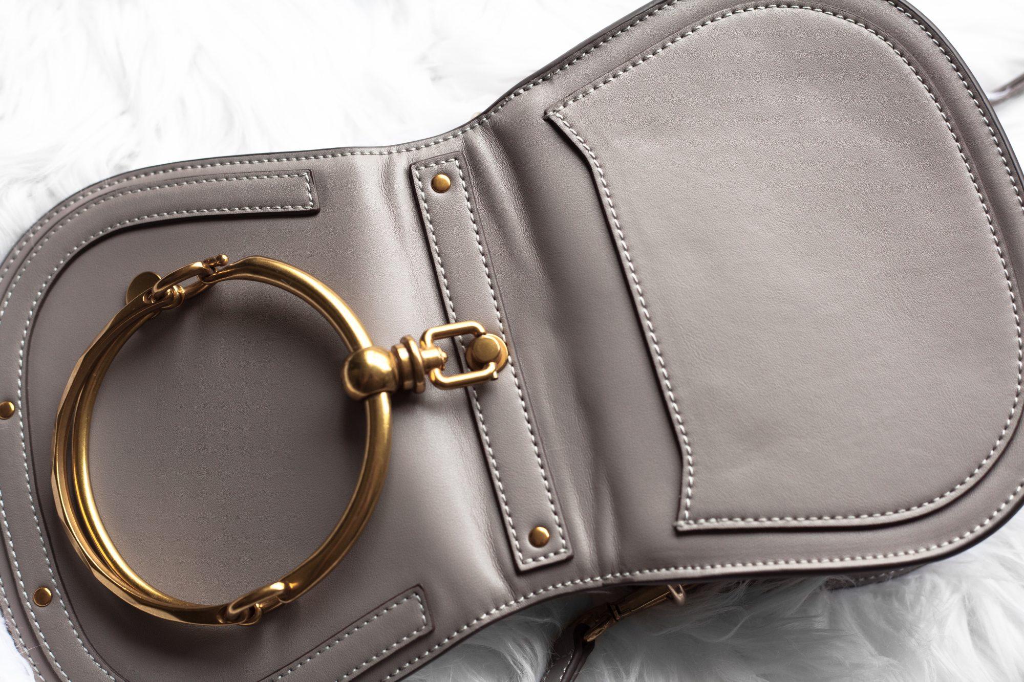 9cf134da88 Designer Dupe: Chloe Small Nile Bracelet Bag – $1,550 vs. $40.43 ...