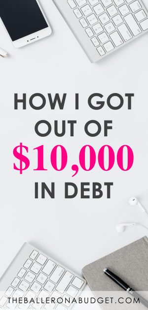 At 22, I had over $10,000 of credit card debt. I've partnered up with National Debt Relief to share my story of losing a job, accumulating debt, paying it off, plus 5 ways that may help you get out of your own debt. - www.theballeronabudget.com