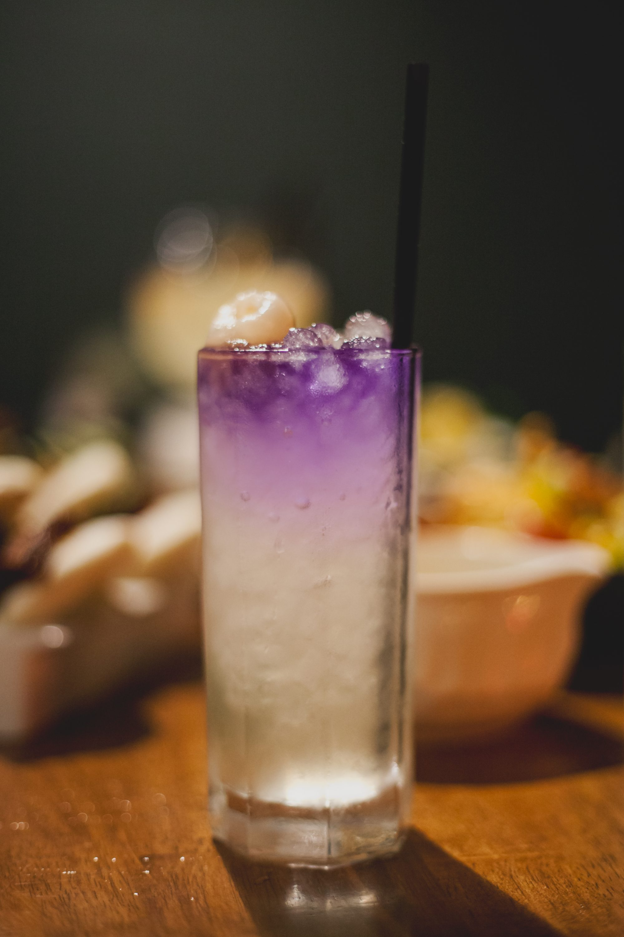 Beauty and the East: Lychee, sabe gold rum, butterfly pea, and mint. This beautiful drink is sweet, slightly minty, and finishes off with sweet lychee for a hint of Asian flavor. Definitely an Instagram-worthy drink that tastes as good as it looks! - Next Republic Kitchen, Alhambra, California, US, courtesy of www.theballeronabudget.com