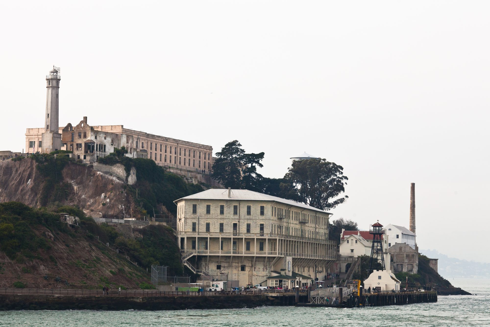 A ticket for the Alcatraz tour will get you ferried over to Alcatraz island for a 2-hour tour of the prison. - www.theballeronabudget.com