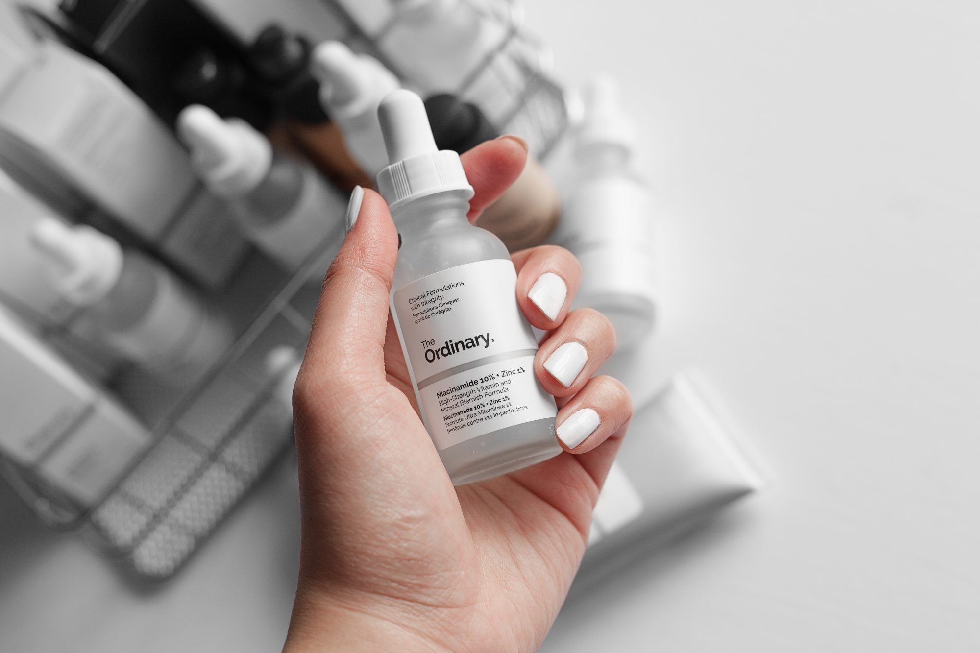 At less than $6 per bottle, The Ordinary's Niacinamide + Zinc solution has been probably the most effective at reducing the aftereffects of my acne onslaught. - www.theballeronabudget.com