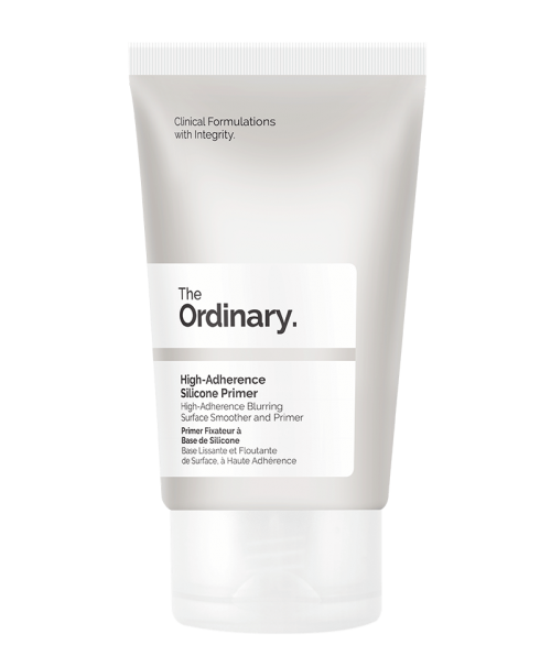 At the price of only $4.90, The Ordinary's High-Adherence Silicone Primer is even cheaper than most drugstore primers and truly helps my makeup stay in place. - www.theballeronabudget.com