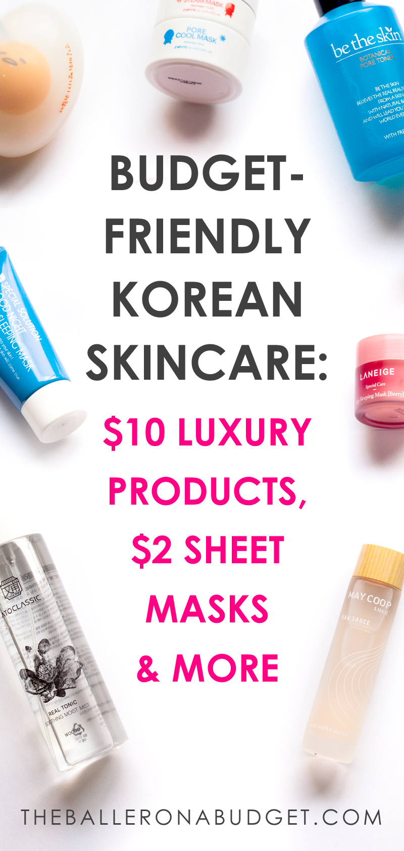 Looking for some budget-friendly Korean skincare products to try out? From $10 samples of luxury products to $2 sheet masks, Peach and Lily's got your back. Check out my beauty haul and review! - www.theballeronabudget.com