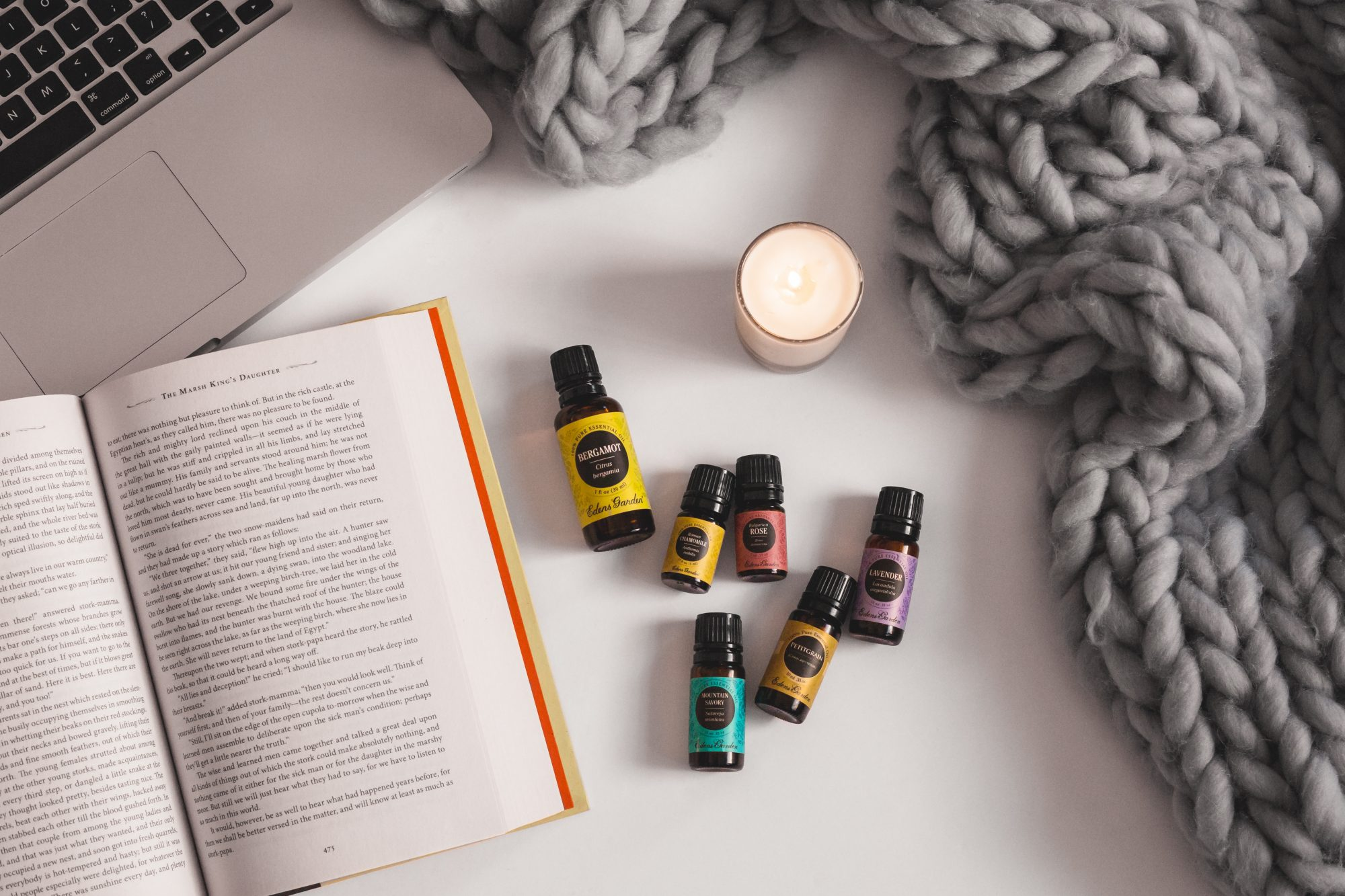 Essential oils like Lavender, Bergamot and Petitgrain and affordable and natural alternatives for treating stress, anger and depression. - www.theballeronabudget.com