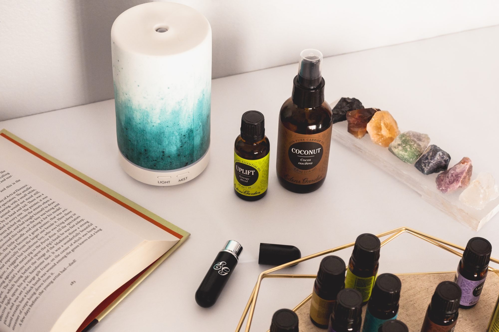 There are many ways to safely use essential oils. Diffusers can spritz up the aroma of any room, while applying oils topically with a carrier oil can improve physical ailments. Using an inhaler can also provide instant aromatherapy relief when you're traveling. - www.theballeronabudget.com
