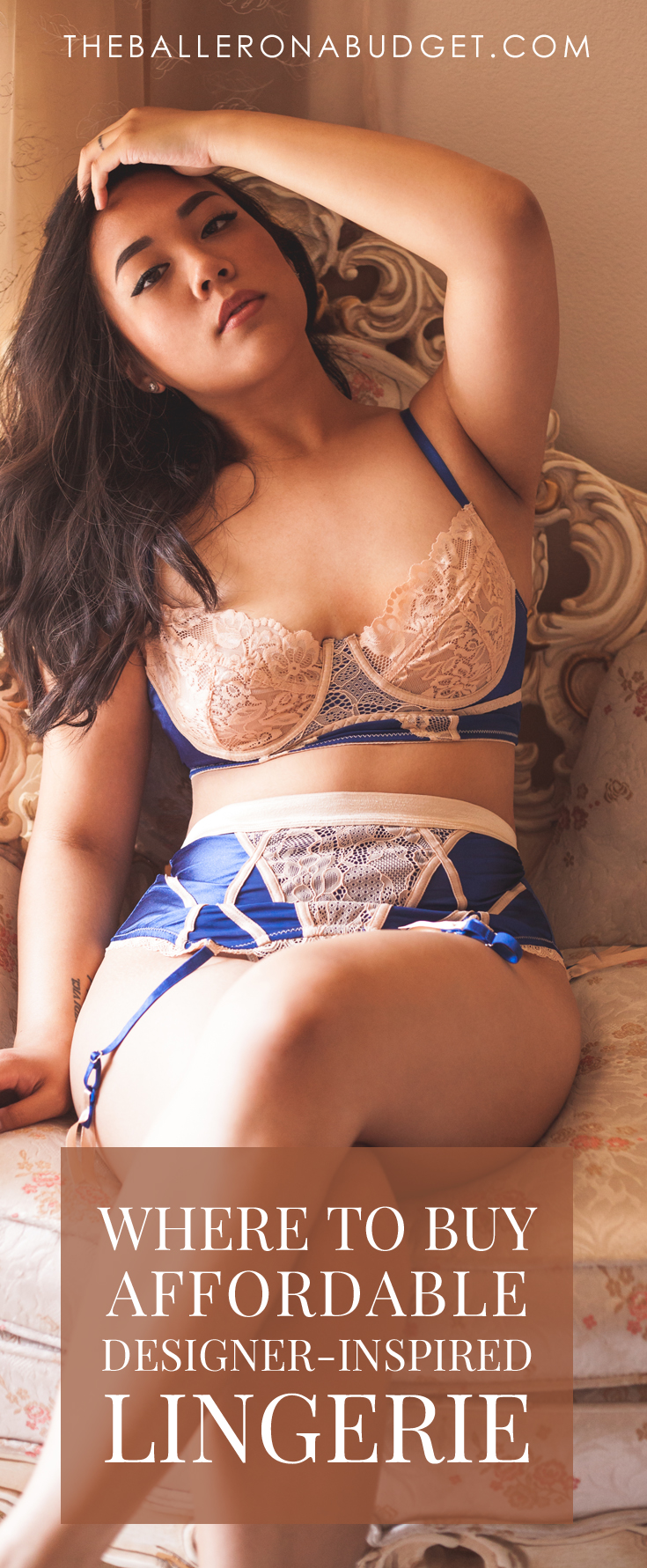 Looking for affordable lingerie to add to your collection? Check out some of my favorite budget-friendly intimates from Yandy. From Bordelle-inspired strappy numbers to lacey La Perla-inspired pieces, you'll find the perfect lingerie piece here. - www.theballeronabudget.com