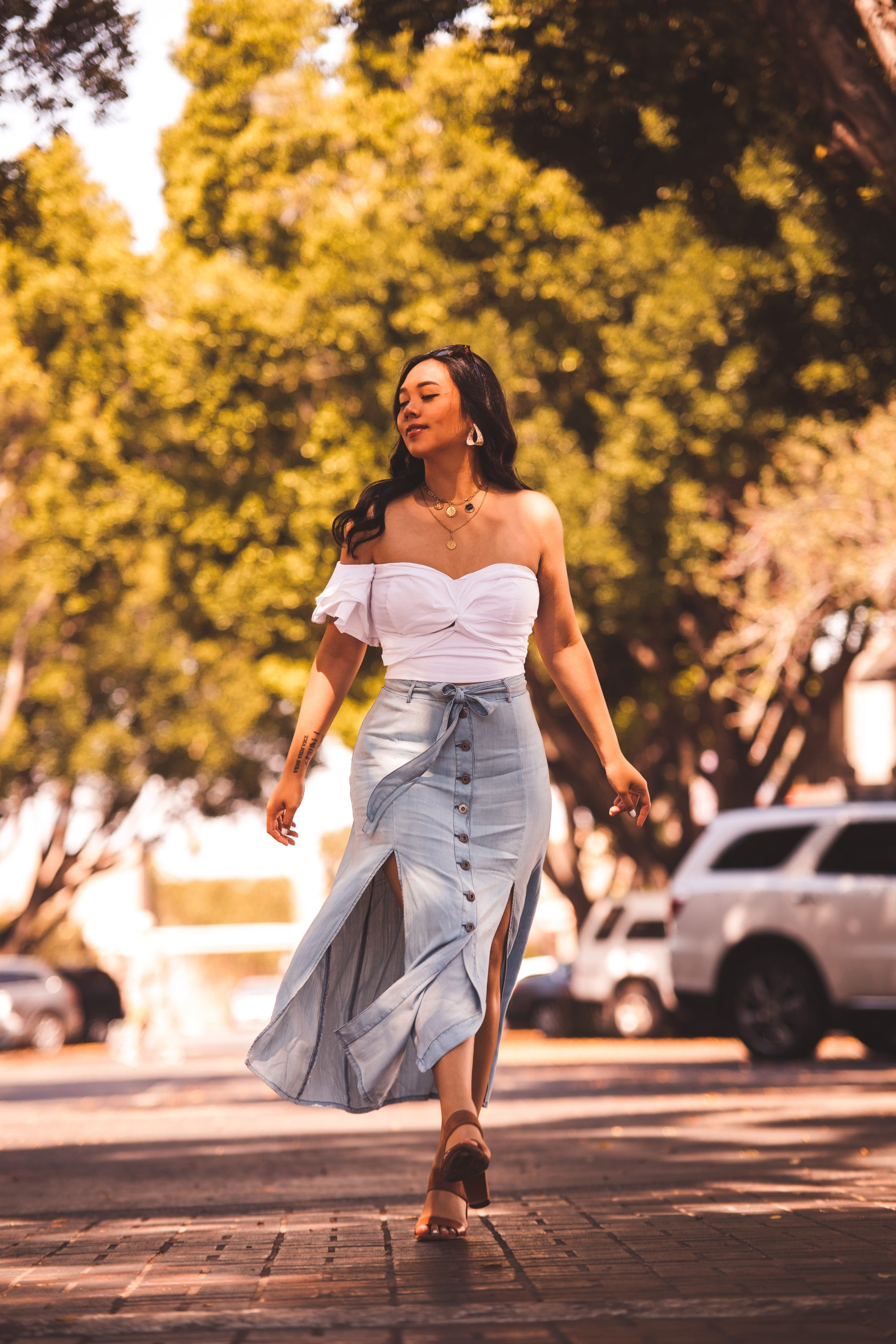 Looks - The maxi best skirts for summer video