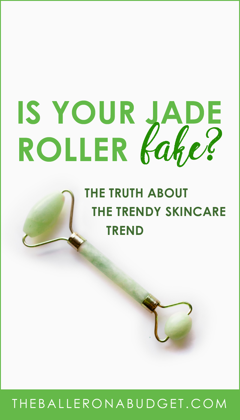 You've seen them everywhere on Instagram. Jade rollers are now affordable to buy - but is yours made of real jade? Learn how to spot a fake and where to buy a real one. - www.theballeronabudget.com