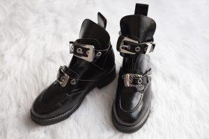 5f77e3d0370ef Designer Dupe  Balenciaga Ceinture Ankle Boot -  1