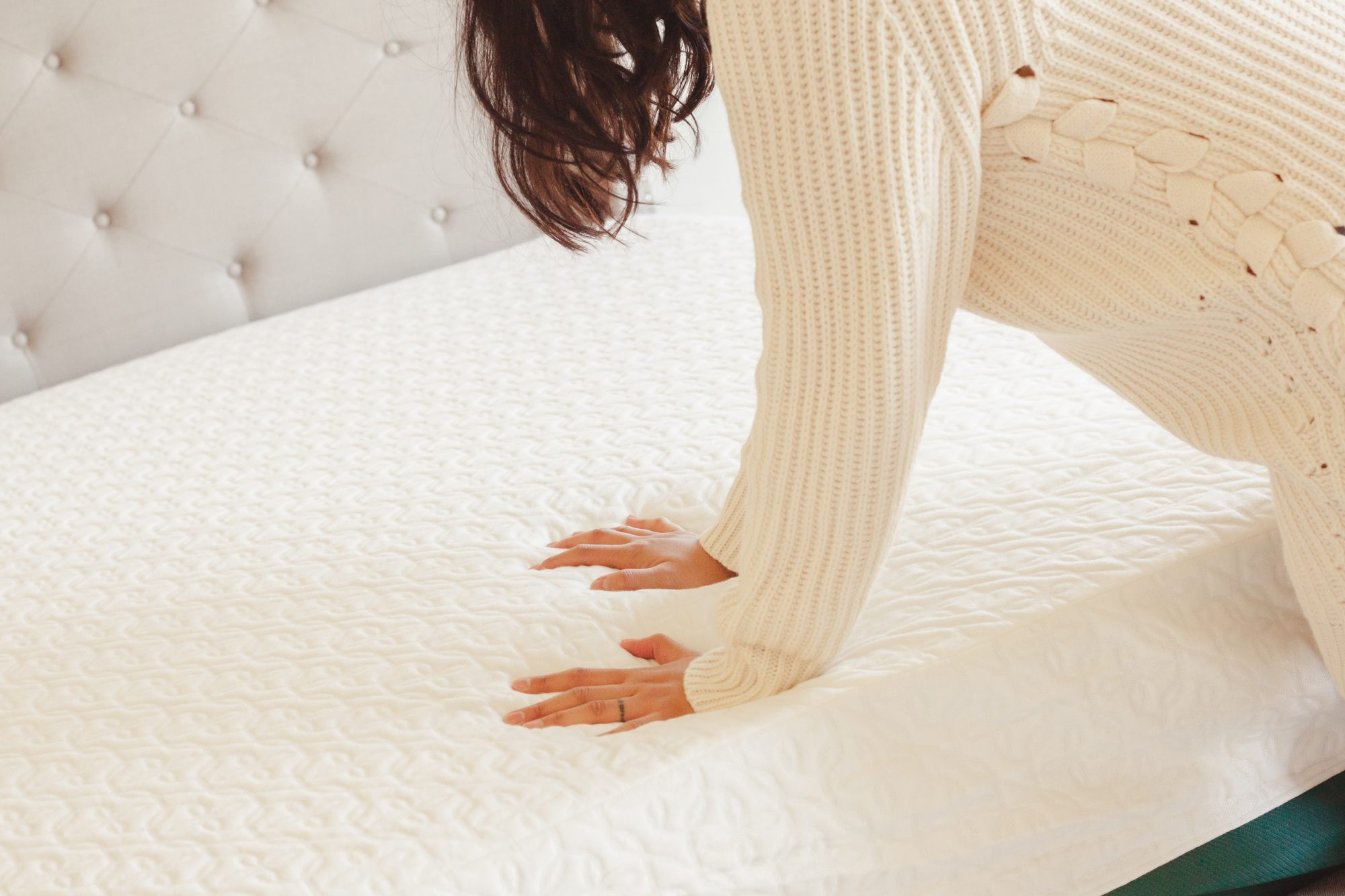 Overall, I'm extremely impressed with the pricing, variety, and quality of my Zinus mattress. I'd gladly get another one for my guest bedroom - maybe the Green Tea Memory Foam Mattress for when my best friends who drink a little too much and stay the night? - www.theballeronabudget.com