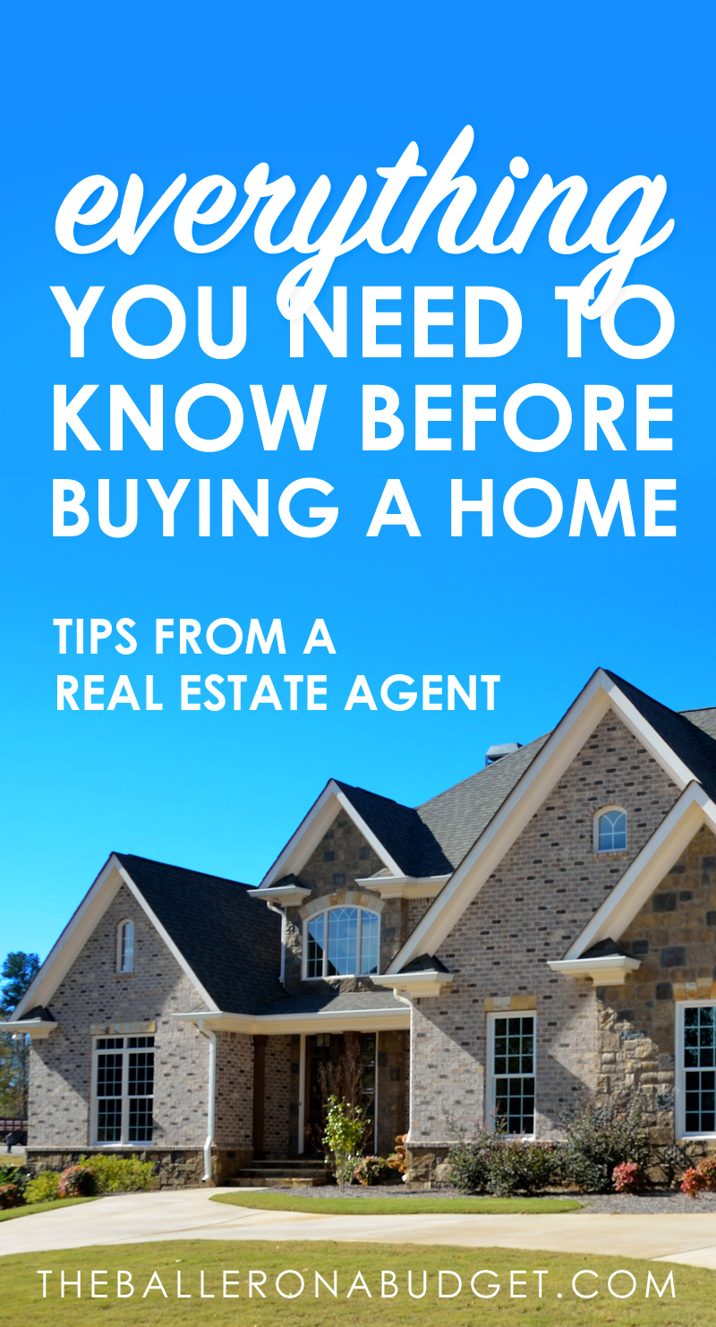Buying a home? It's not as simple as you think. Here are some things you should know that most real estate agents won't tell you about. - www.theballeronabudget.com
