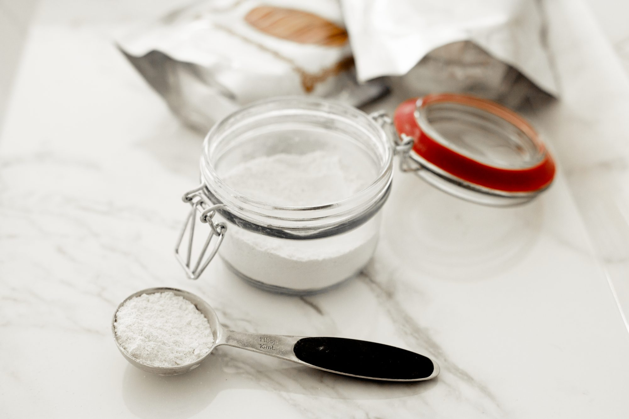 Save money on microdermabrasion and try this easy DIY 2-ingredient scrub inspired by Fresh Beauty and Aveda. It contains no wet ingredients and only requires you to mix with a little bit of water when you use it, so you don't have to worry about a short shelf life. - www.theballeronabudget.com