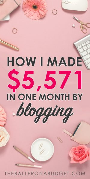 I made almost $40,000 in my second year of blogging. My first blogging income report shows all of the strategies I used and how you can build a full-time income with your own blog. - www.theballeronabudget.com