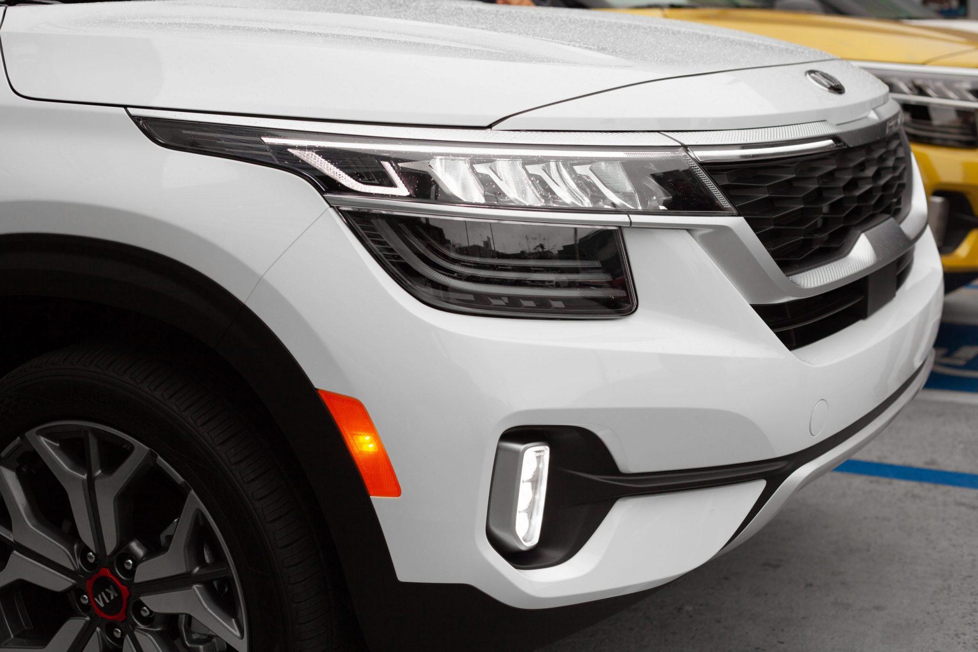 Exterior of 2021 Kia Seltos SUV